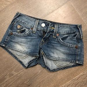 True religion jean shorts: size25✨